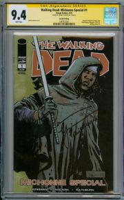 Walking Dead Michonne Special #1 CGC 9.4 Signature Series Signed Danai Gurira Image comic book
